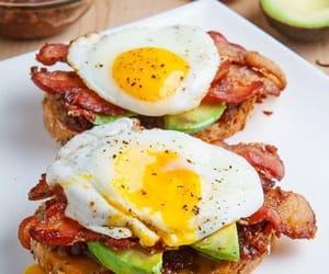 bacon, ham, and breakfast image