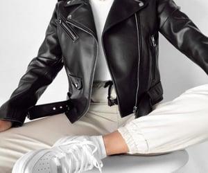 leather moto jacket image