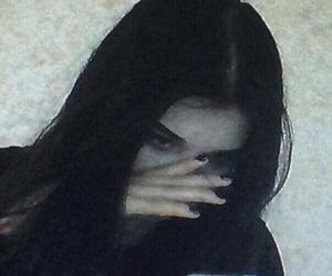 girl, aesthetic, and emo image