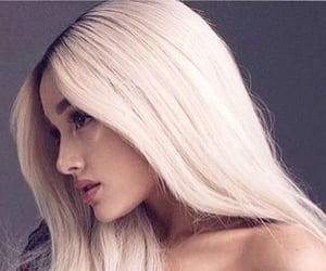 blonde, icon, and ariana image