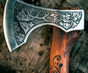 axe, hikin, and hiking hatchet image