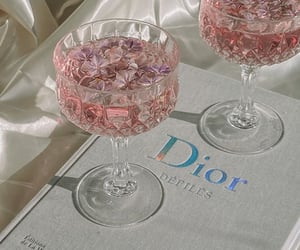 dior, drink, and fashion image