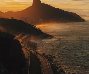 brazil, ocean, and rio de janeiro image
