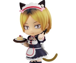 cat boy, nendoroid, and haikyuu image