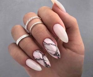 style, fashion, and nail art image