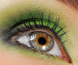 mulher, eye, and linda image