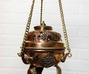 altar, boho, and brass image