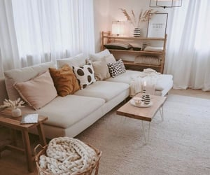 home, beige, and interior image