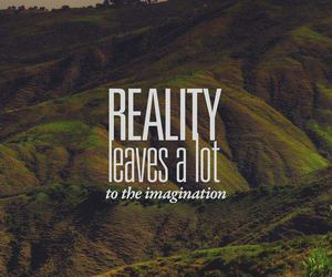 imagination, quote, and reality image