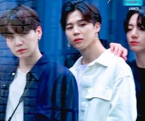 gif, yoongi, and jhope image