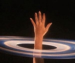 hand and universe image