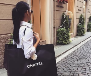 city, friend, and chanel image