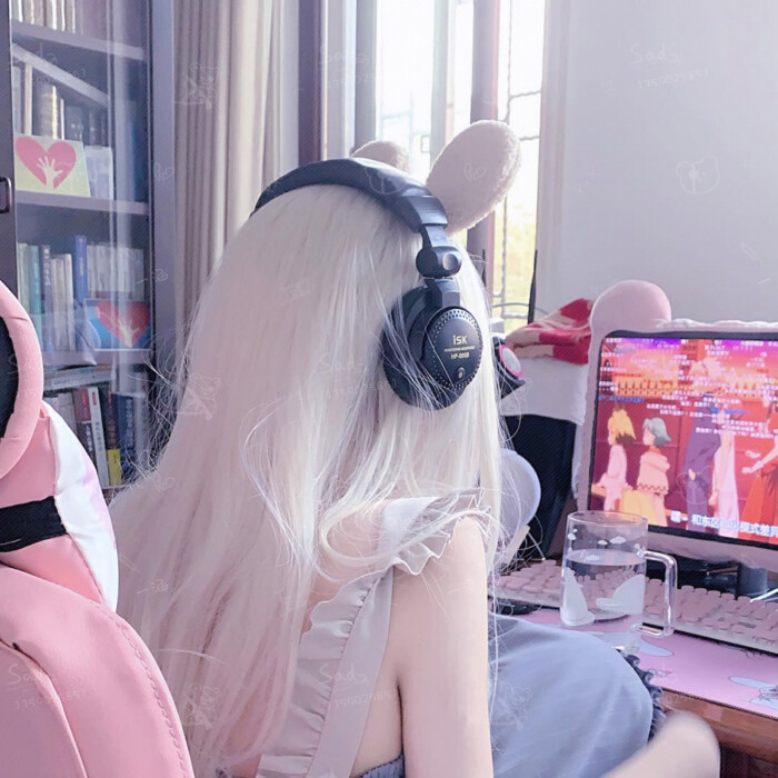 asian, daddy, and gamer girl image