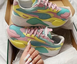 sneakers, trainers, and running sneakers image