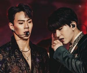 kpop, hyunwoo, and kihyun image