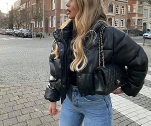 chanel, jacket, and outfit image