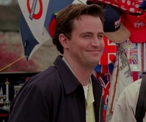 chandler bing at tow ross's wedding