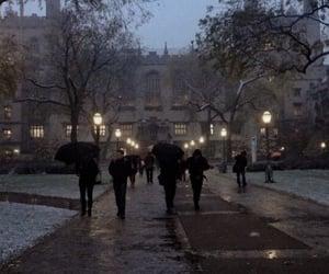 dark academia, aesthetic, and theme image