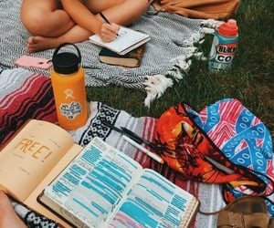book, aesthetic, and picnic image