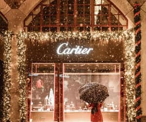 christmas, winter, and cartier image