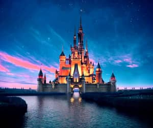disney, walt disney, and castle image