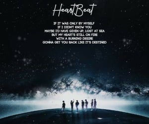 heartbeat, k-pop, and bts image