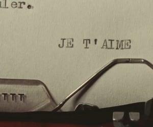 je taime, romance, and love image
