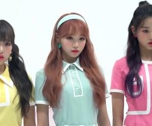 izone, chaewon, and wonyoung image