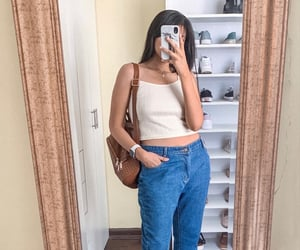 fashionable, outfit, and ootd image