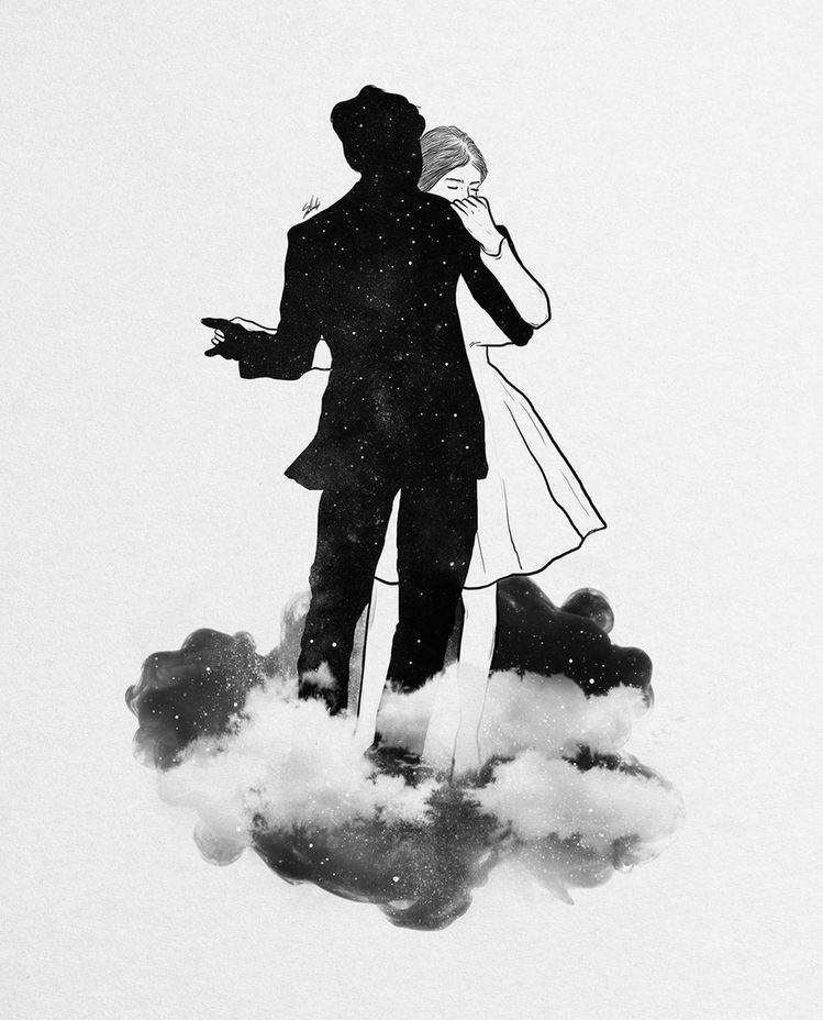 alone, art, and magic image