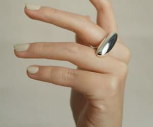 accessories, nail polish, and statement ring image