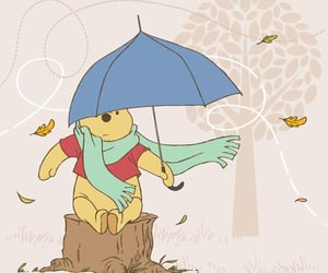 disney, windy, and winnie the pooh image