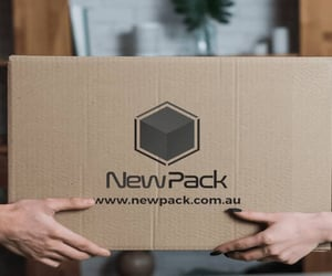 moving boxes and shipping & packing boxes. image