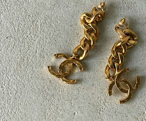 accessories, chanel, and earrings image
