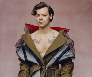 Harry Styles, handsome, and vogue image