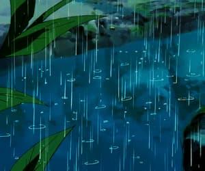 gif, rain, and relax image