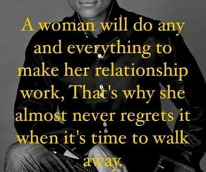 woman, time to walk away, and never regrets image