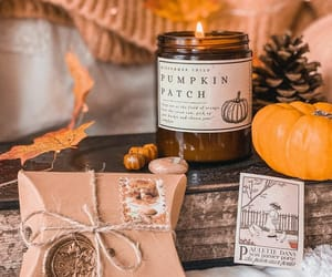 autumn, fall, and scented candles image