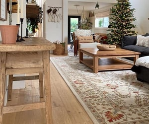 christmas tree, home, and holiday home image