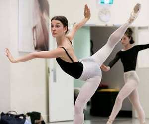"yoiness: "" The Australian Ballet Benedicte Bemet rehearsing William Forsythe's In the Middle, Somewhat Elevated. Photography Lynette Wills """