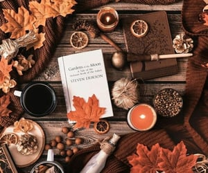 autumn, candles, and autumn vibes image