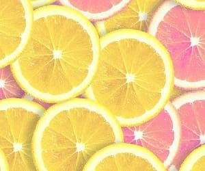 aesthetic, citrus, and lemon image