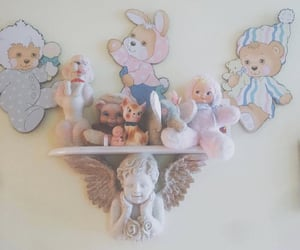 angels, toys, and crybaby image