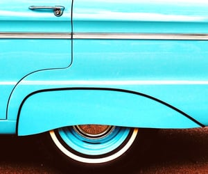 automobiles, turquoise, and blue image