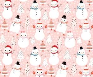 christmas, holidays, and snowman image