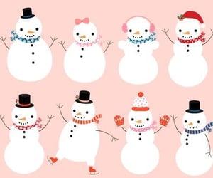 blush, christmas, and holidays image