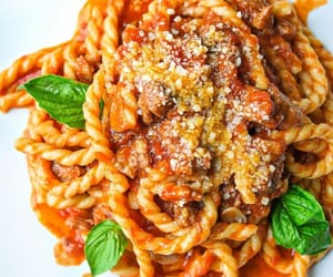 food, nourriture, and pasta image