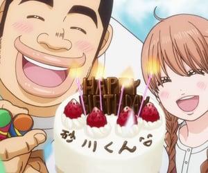 cake, anime, and happy birthday image