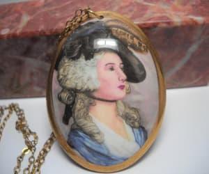 etsy, fine bone china, and pendant necklace image