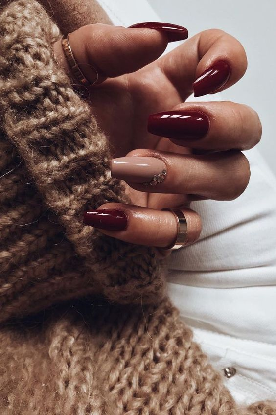 christmas, nails, and nail designs image